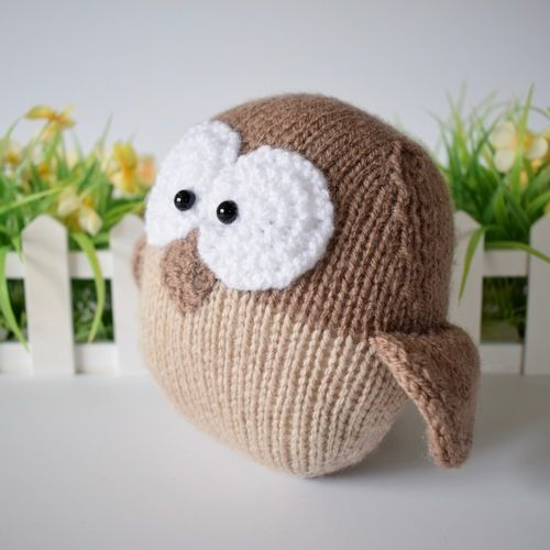 Makerist - Barney Owl - Knitting Showcase - 2