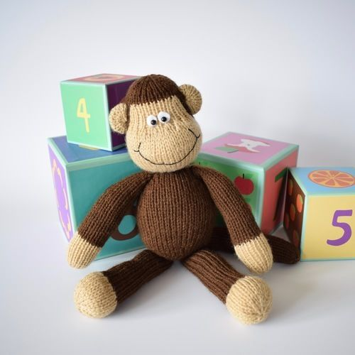 Makerist - Norwood Monkey - Knitting Showcase - 2