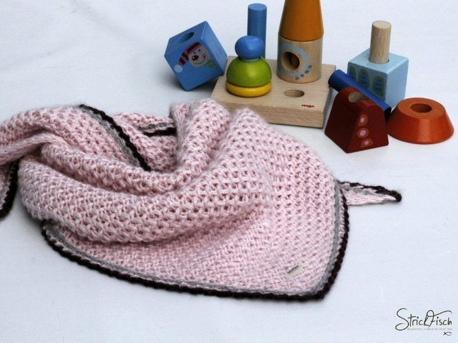 "Makerist - Kinder-Tuch ""SLOUISI""  - Strickprojekte - 1"