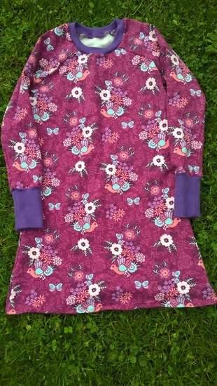 Kleid aus Sommersweat