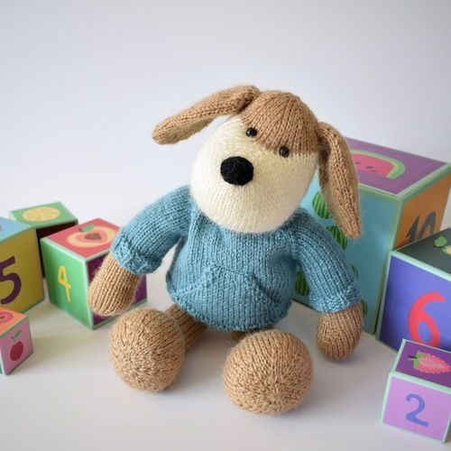 Makerist - Riley the Puppy - Knitting Showcase - 1