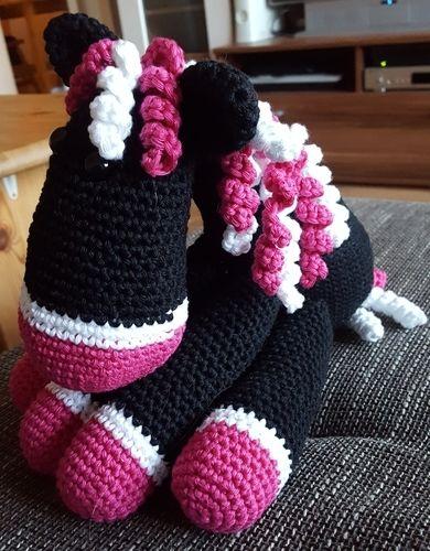 Makerist - Pferd aus Baumwolle - Häkelprojekte - 1