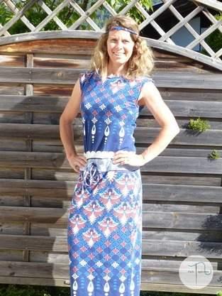 Kleid Pia von Fadenkäfer aus tollem Jersey