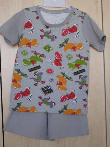 Makerist - Ensemble enfant 3 ans Dino sport  - Créations de couture - 1