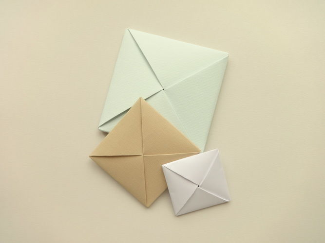 Makerist - ORIGAMI ENVELOPE - DIY-Projekte - 3