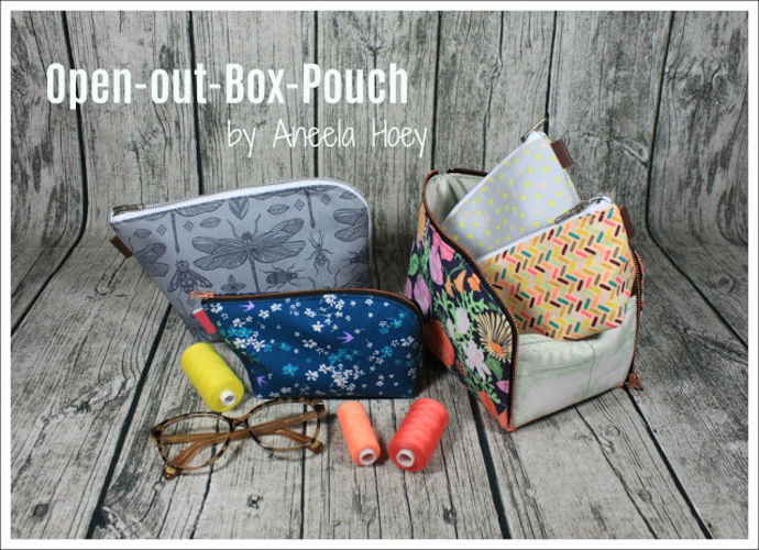 Makerist - open-out-box-pouch  - Nähprojekte - 1