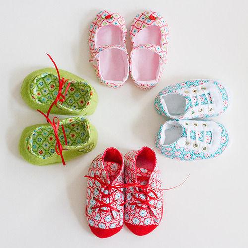 Makerist - Babyschuhe in verschiedenen Varianten - Nähprojekte - 1
