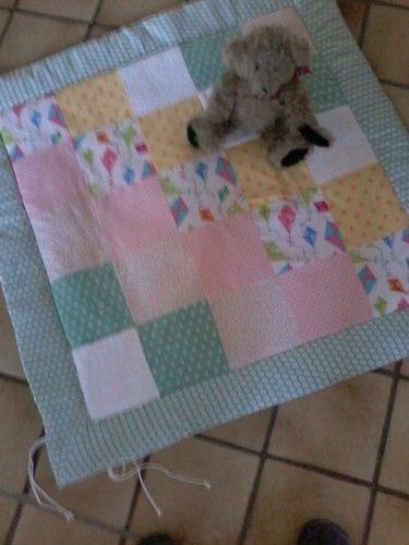 Makerist - Decke für Laufstall - Nähprojekte - 1
