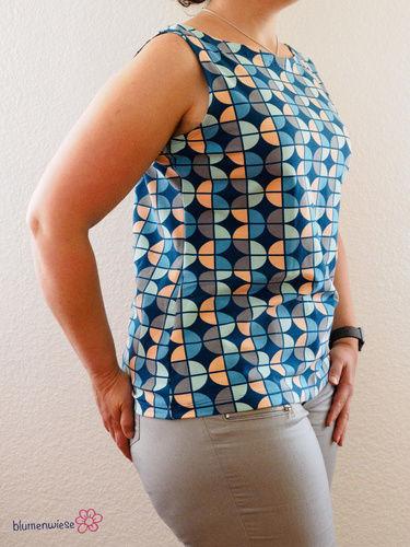 Makerist - Shirt mit U-Bootausschnitt von MiouMiou - Nähprojekte - 2