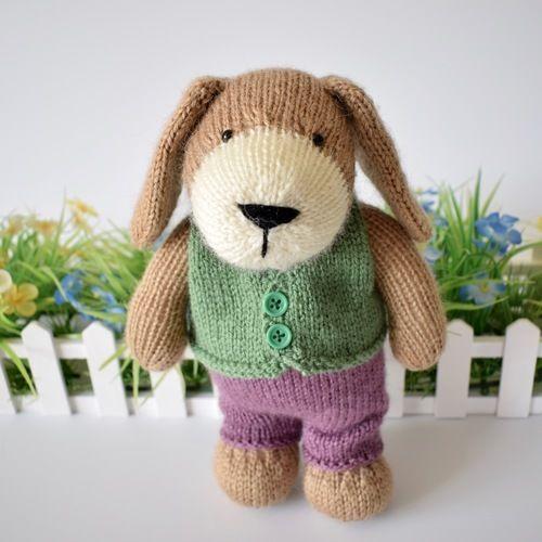 Makerist - Puppy - Knitting Showcase - 1