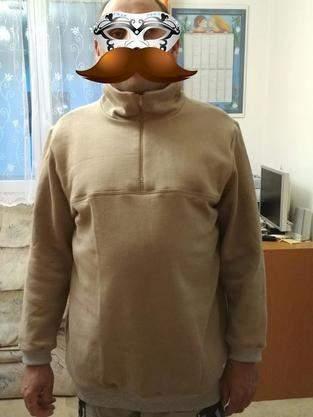Makerist - Hoodie Jeanstyp for my housband - 1