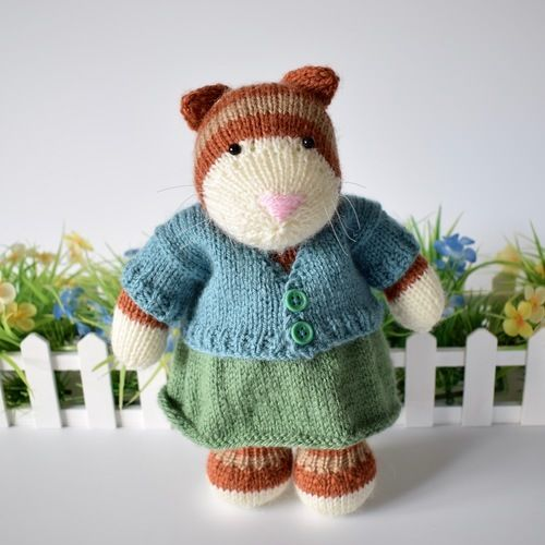 Makerist - Tabby Cat - Knitting Showcase - 1