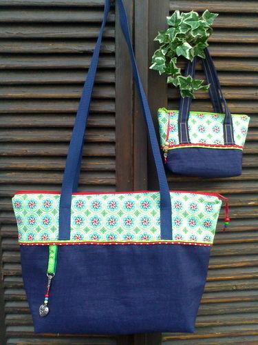 Makerist - Basic Bag  groß & klein - Nähprojekte - 1