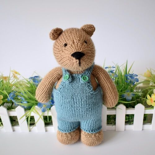 Makerist - Teddy Bear - Knitting Showcase - 2