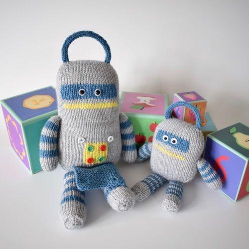Makerist - Robots - Knitting Showcase - 3