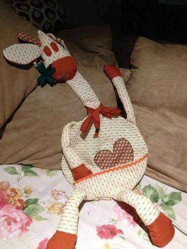 Makerist - Übernachtungsgiraffe  - Nähprojekte - 1