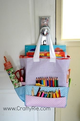Makerist - Art Caddy Tote - Sewing Showcase - 1