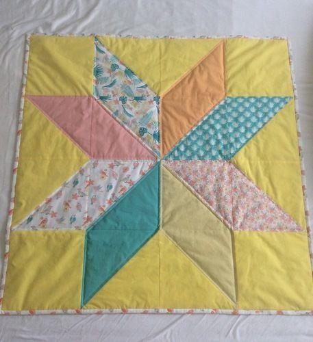 Makerist - Mein erster Quilt - eine Babydecke - Patchwork-Projekte - 1