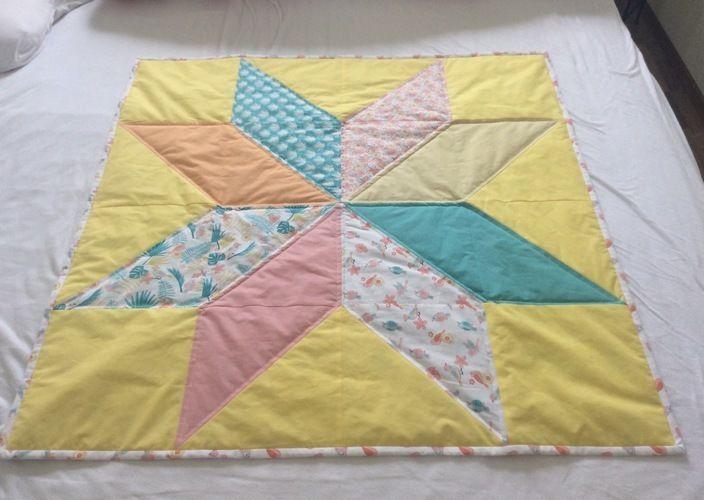 Makerist - Mein erster Quilt - eine Babydecke - Patchwork-Projekte - 3