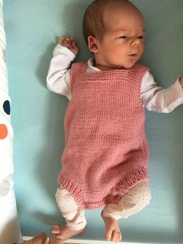 Makerist - Babystrampler - Strickprojekte - 1
