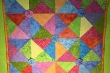 Makerist - Spiel mit bunten Dreiecken - 1