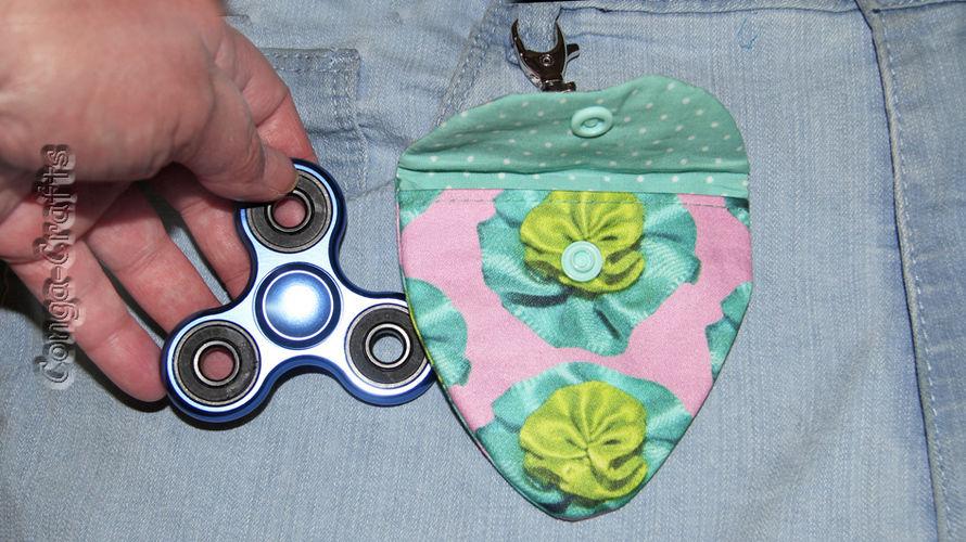 Makerist - Tasche für Fidget-Spinner entwerfen u. nähen - DIY-Projekte - 3
