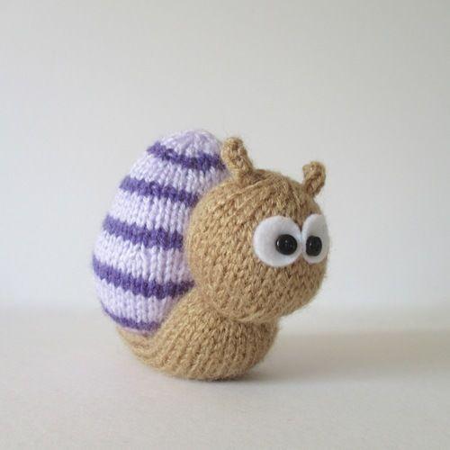 Makerist - Sammy Snail and Lil Ladybug - Knitting Showcase - 2