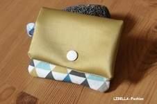 Makerist - Geldbörse mit Kunstleder - 1
