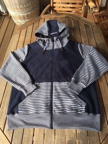 Makerist - Sweat-Jacke für meinen Mann - Nähprojekte - 1