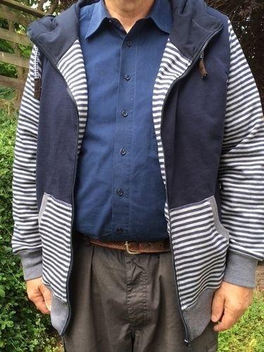 Makerist - Sweat-Jacke für meinen Mann - Nähprojekte - 2
