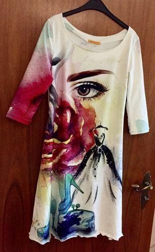 Makerist - Kleid aus Stenzo Panel - Nähprojekte - 1