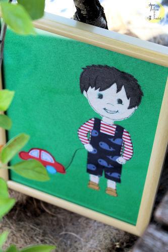 "Makerist - Appli ""Julian"" - Textilgestaltung - 2"