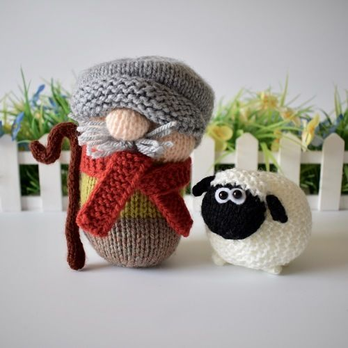 Makerist - Farmer Drabble - Knitting Showcase - 1