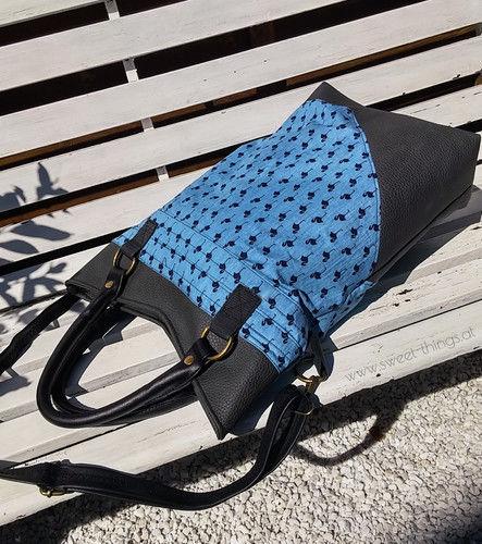 """Makerist - Shopper #sweetbigbag mit Ebook Erweiterung """"Reißverschluss"""" - Nähprojekte - 3"""