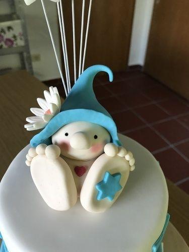 Makerist - Finn's Tauftorte - Torten, Cake Pops und Cupcakes - 2