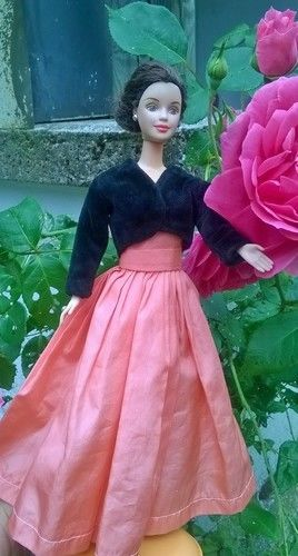 Makerist - Ensemble de soirée pour poupée Barbie - Créations de couture - 1