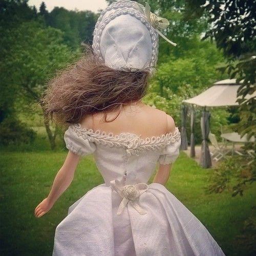 """Makerist - Robe """"Autant en emporte le vent"""" pour poupée Barbie - Créations de couture - 2"""