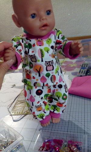 Makerist - Anziehsachen für Baby Born aus Jersey als Geschenk - Nähprojekte - 1
