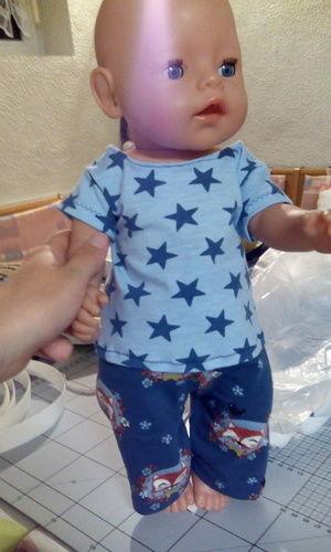 Makerist - Anziehsachen für Baby Born aus Jersey als Geschenk - Nähprojekte - 2