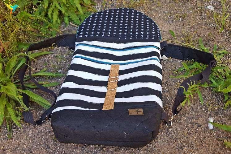 Makerist - HikeBag aus Baumwolle, Canvas und Steppstoff - Nähprojekte - 2