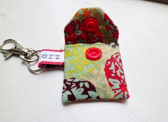 Makerist - Minitäschchen für Einkaufswagen-chips - Nähprojekte - 2