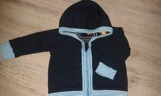 Hooded-Baby Jacket nach Kds5