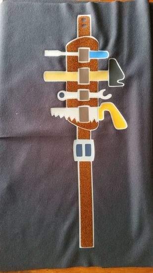 Makerist - Werkzeuggürtel plotterdatei für den Junior  - 1