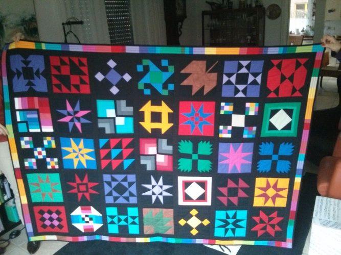 Makerist - Tolle Patchwork Decke - Nähprojekte - 1
