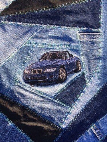 Makerist - Crazy Patchwork Jeans-Tasche - Patchwork-Projekte - 3