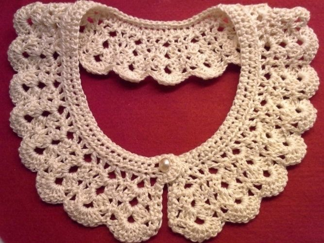 Makerist - Kragen für Kleider, Pulli, Shirt - Häkelprojekte - 1
