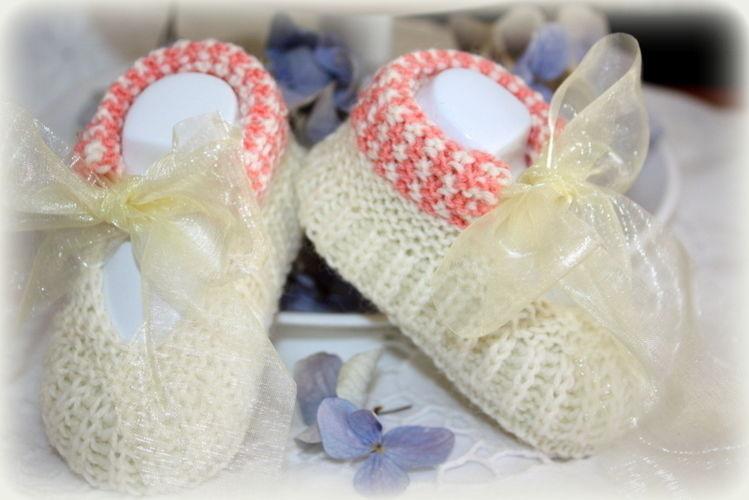 Makerist - Babyschuhe für die Taufe - Strickprojekte - 1