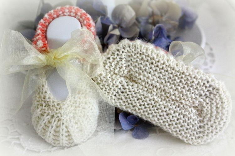 Makerist - Babyschuhe für die Taufe - Strickprojekte - 3