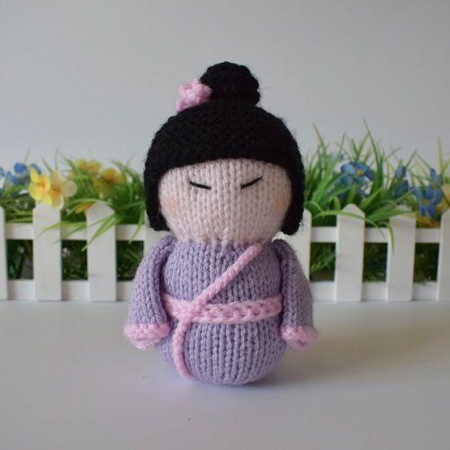 Makerist - Geisha Girl - Knitting Showcase - 1