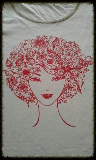 Makerist - Blumenkopf -  Plotterdatei von Münchner Liebe - 1